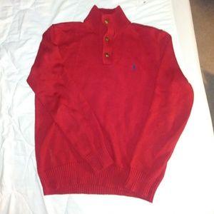 Ralph Lauren Polo half button sweater. Men's XXL.